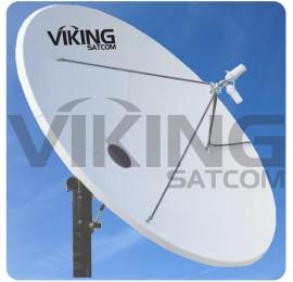CPI SAT 2.4 Meter Antenna, 1252 Series
