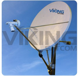 1.8 Meter Motorized Dual Axis VSAT Antenna