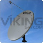 3.8 Meter Motorized Ku Band Uplink 4 Watt Antenna Package