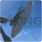 CPI SAT 2.4 Meter X band Antenna, HD