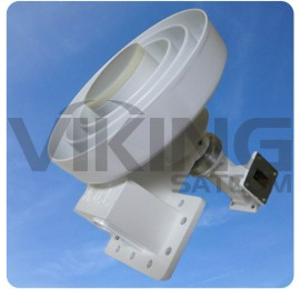 4 Port C/Ku Band Extended Frequency Feed Assembly