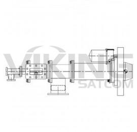 4 Port C/Ku Band Motorized Feed Assembly, Seavey, ESR44C-1111-B