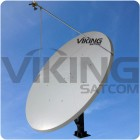 3.8 Meter Motorized Dual Axis Tx Rx  Antenna