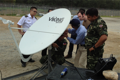 VIKING SATCOM PARTICIPATES IN PACIFIC ENDEAVOR 2012 SATCOM TRAINING